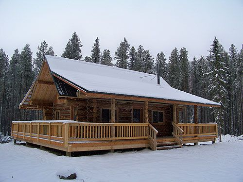 16 best Log cabin images on Pinterest Log cabins Small houses