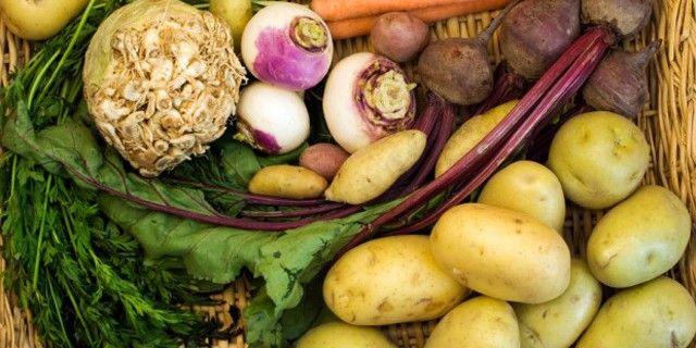 Root Vegetables En-Ru — Английские слова на тему Корнеплоды