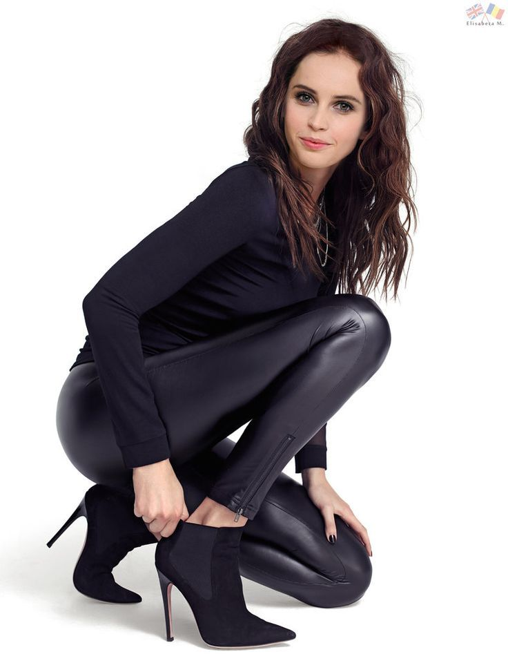 8724ff24d88c Black leather pants and ankle boots