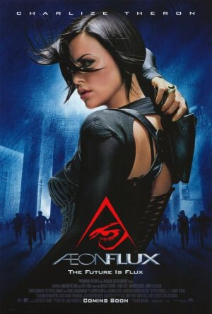 "Aeon Flux 27x40 Movie Poster (2005). CAST: Charlize Theron, Marton Csokas, Jonny Lee Miller, Sophie Okonedo, Amelia Warner, Frances McDormand; DIRECTED BY: Karyn Kusama;  Features:    27"" x 40""   Packaged with care - ships in sturdy reinforced packing material   Made in the USA  SHIPS IN 1-3 DAYS"