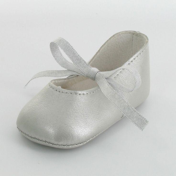 Chaussons ballerines argentées Douchka : Mon petit chausson