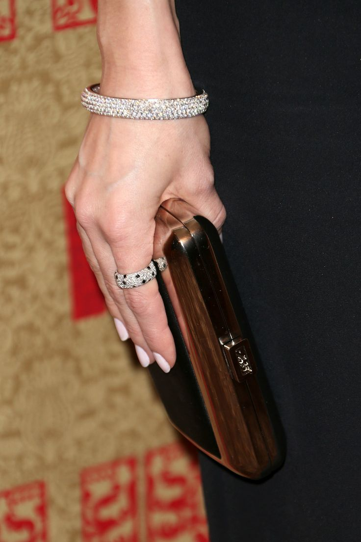 Just Look At All Those Diamonds — Allison Williams Added A Cartier Pavé  Bracelet And Ring