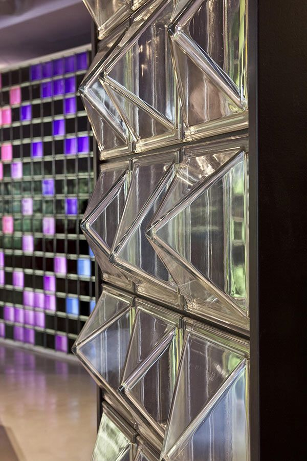 Glass Block Wall Designs Ideas