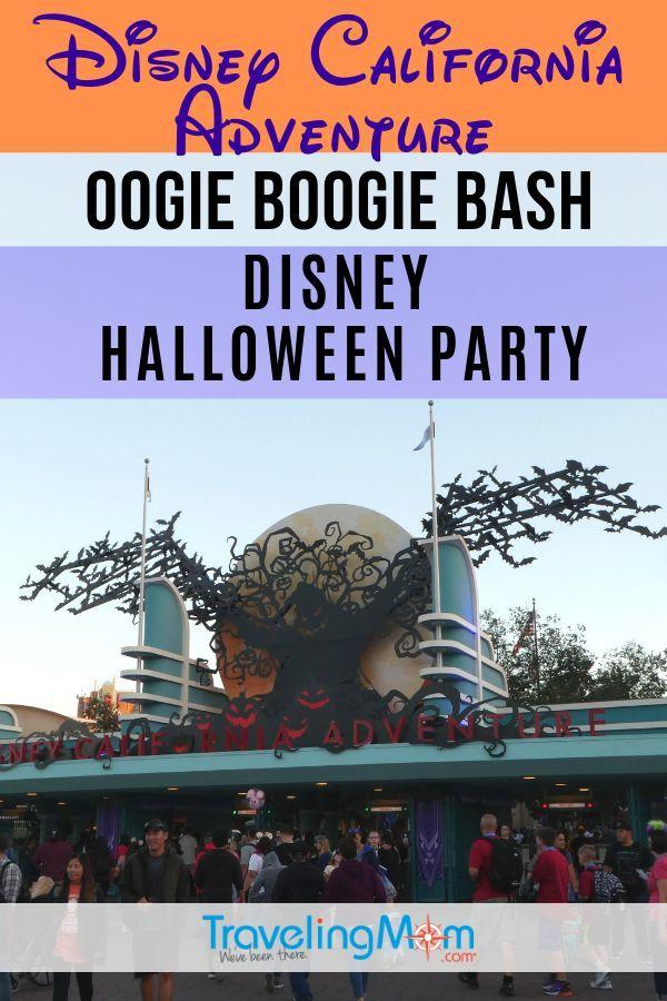 oogie boogie bash – a disney halloween party
