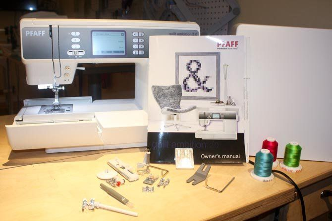 Test Driving the PFAFF Quilt Ambition 2.0 - QUILTsocial