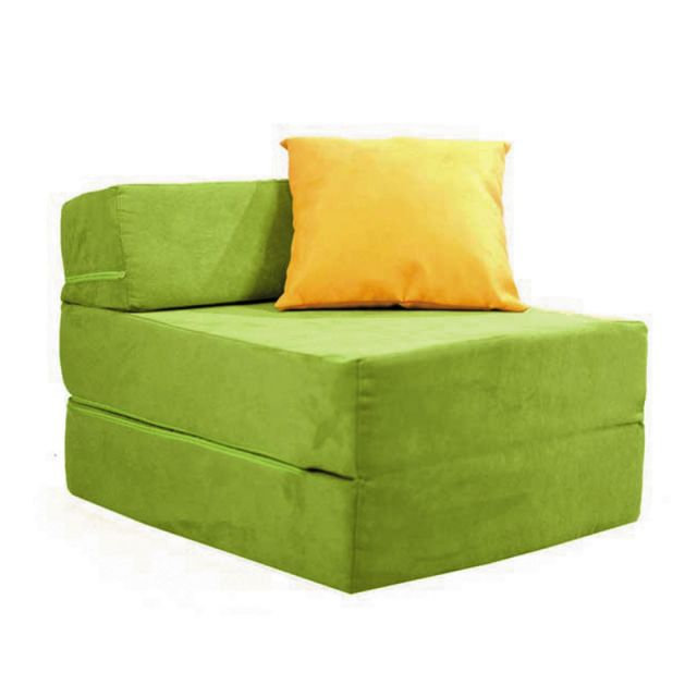 DUO Armchair - Sponge Design  The Duo is both - an armchair and - after deployment - a couch. Duo is soft, made of sponge and doesn't contain any hard elements.