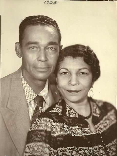 Prince's father and mother 1953