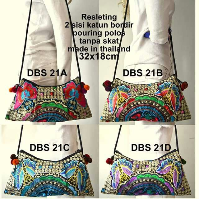 Ethnic bag embroidary $20 usd