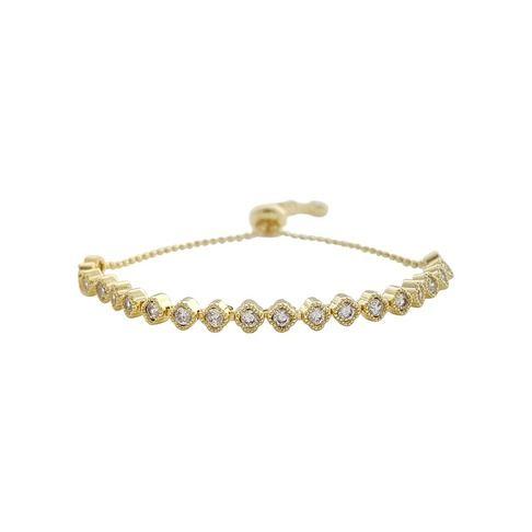 Adjustable Gold Bracelets- Bella