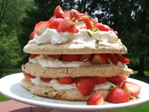 ...Strawberry Pancake