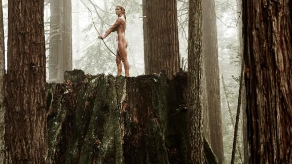 Archer Khatuna Lorig on being 41, confident and happy - ESPN The Magazine Body Issue