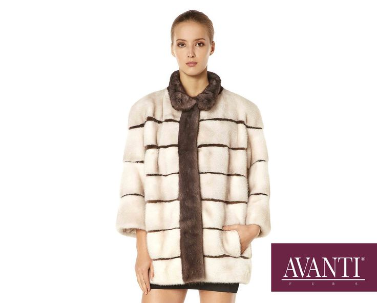 AVANTI FURS - MODEL: JESY-RIGVE M MINK JACKET with Mink Silk and Amber details #avantifurs #fur #fashion #fox #luxury #musthave #мех #шуба #стиль #норка #зима #красота #мода #topfurexperts