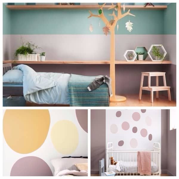 Χρωματα για παιδικα δωματια