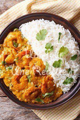 Photo de la recette Crevettes à l'indienne                                                                                                                                                                                 Plus