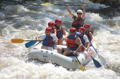 white water rafting, Tennessee