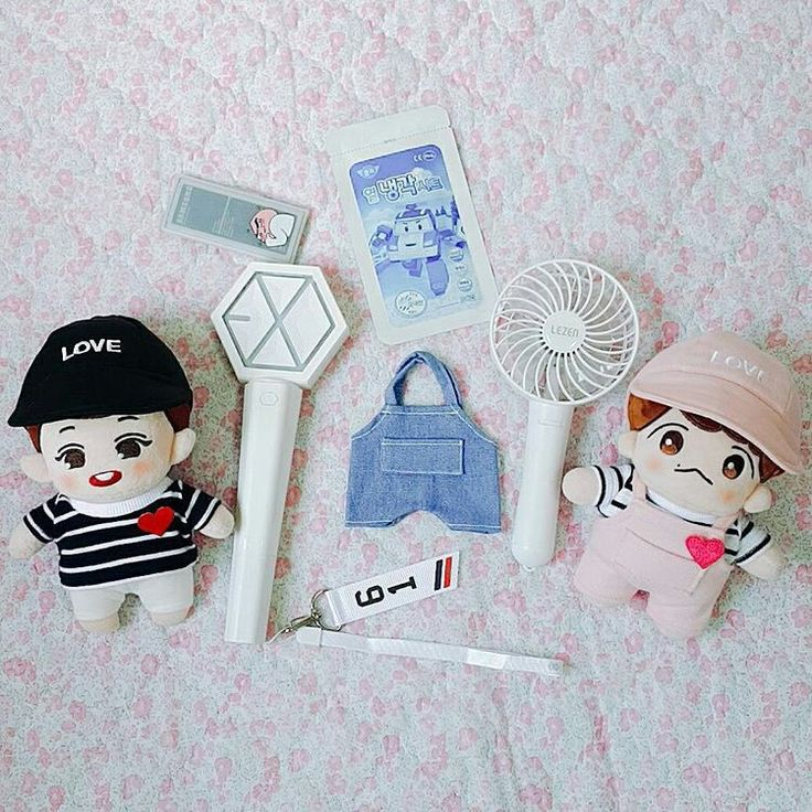 Doll and lighstick
