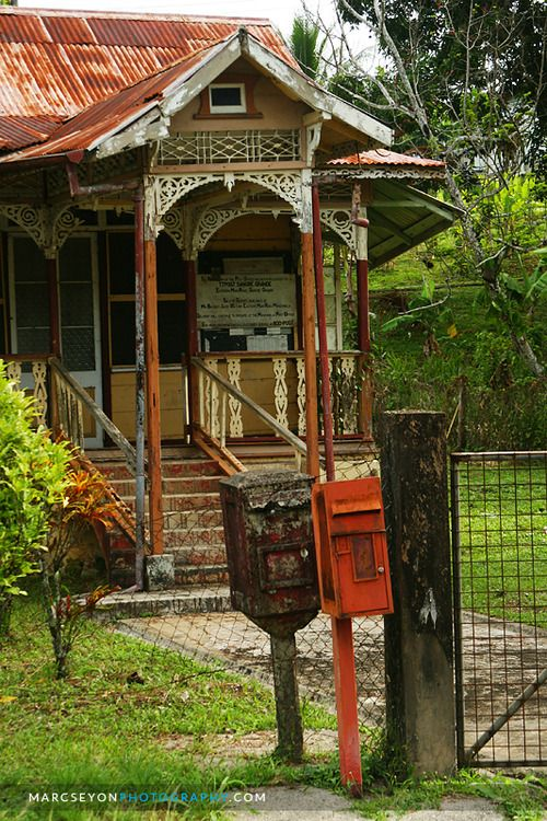 59 best images about caribbean houses cottages on for Trinidad houses