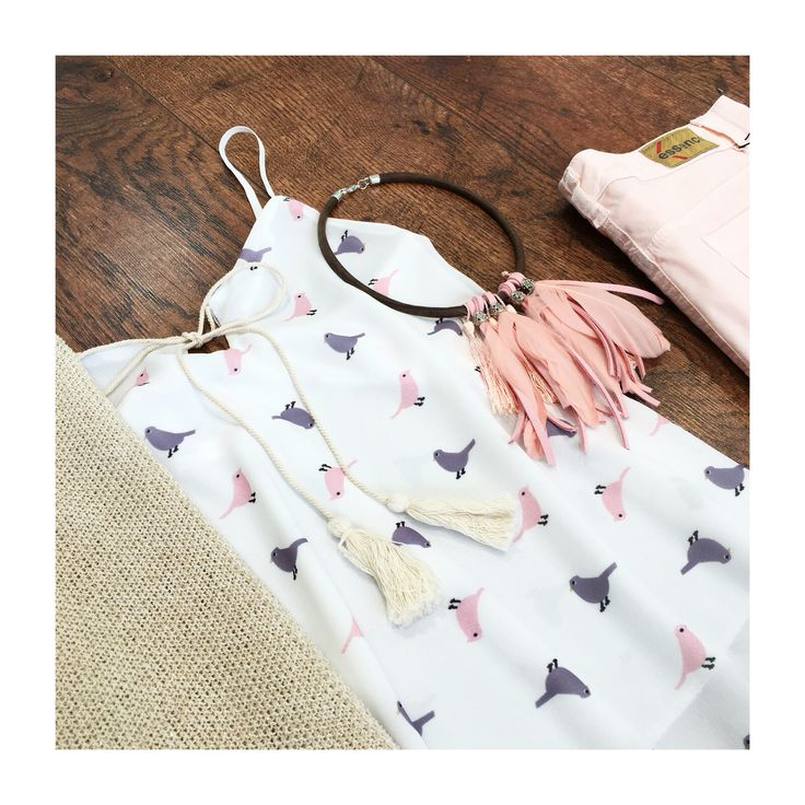 Top pájaros blusa mujer verano