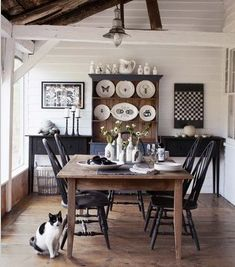 22 Best Home Dining Room Images On Pinterest The Rustic Chic Dining Room Of  Vermont Artist Part 4