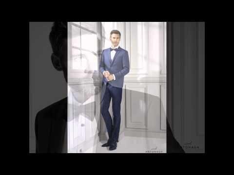 Antonaga, colección trajes de novio 2016.