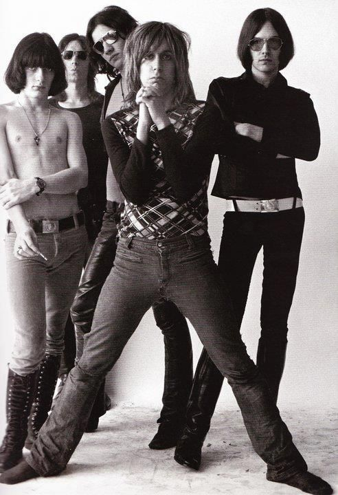 """The Stooges. Regarded as the first successful punk band. Now labeled as """"PROTO PUNK"""" ITS STILL PUNK!!!"""