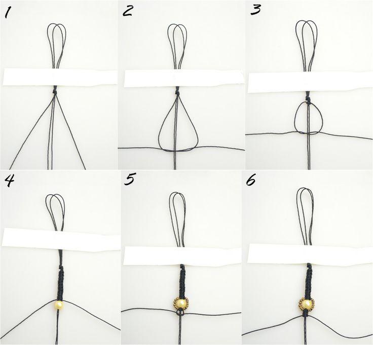 Bracelet making tutorial-how to make hemp bracelets with beads – Pandahall