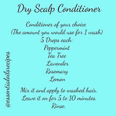 You can also add a few drops of Fractionated Coconut Oil to this recipe. This recipe really took care of my flaky scalp. I've had problems with dry scalp and in the last few weeks I tried something new. I needed something stronger than the last recipe i posted for dry scalp. And my hair is very thick and freezy,  I can't wash it everyday. Now, after using this recipe, I can go a several days without washing my hair, and no flakes. I'm super excited!!!