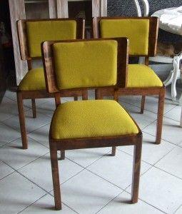 Krzesła lata 40 te .