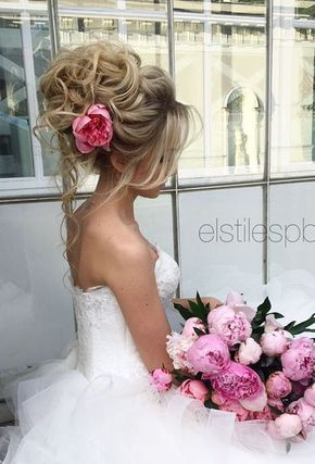 Elstile wedding hairstyles for long hair 52 - Deer Pearl Flowers / http://www.deerpearlflowers.com/wedding-hairstyle-inspiration/elstile-wedding-hairstyles-for-long-hair-52/