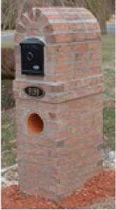 Custom Series Mailboxes : Residential : Mailbox Installation : C R ...