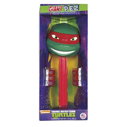 Giant PEZ Teenage Mutant Ninja Turtle Raphael Candy Dispenser