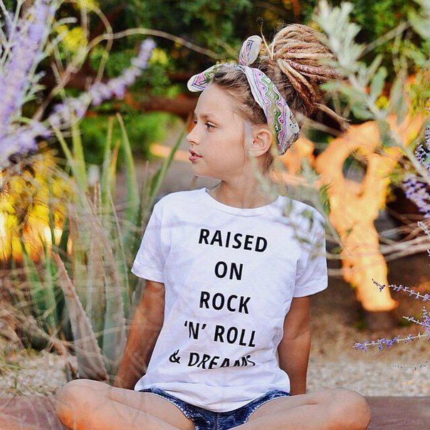 So cute! If only my daughter were only, We would be dreadlock twins for sure!! MyHIppyHome.com