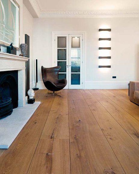 Suelo de madera maciza