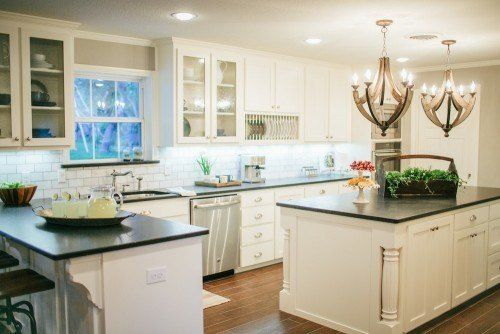 Fixer Upper | Seasons, Islands and Cabinets