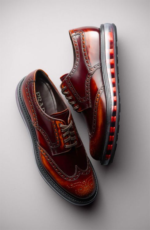 Prada Levitate Wingtips (just for complete coverage!)