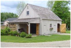 Do you want to build your own barn? Check out CountryCarpenters.com for DIY kits for traditional, New England, post & beam barns.