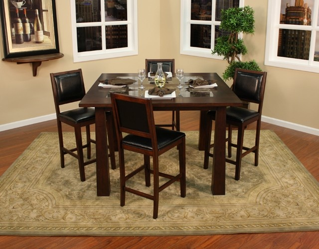 American Heritage Billiards   Vitore Counter Height Dining Table 5 Piece Set  (Includes 4 Chairs