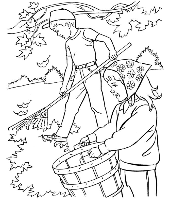 seasons coloring pages children - photo#20