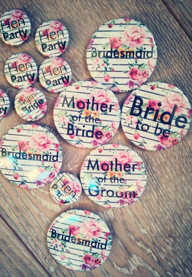 Festival Inspired Badges