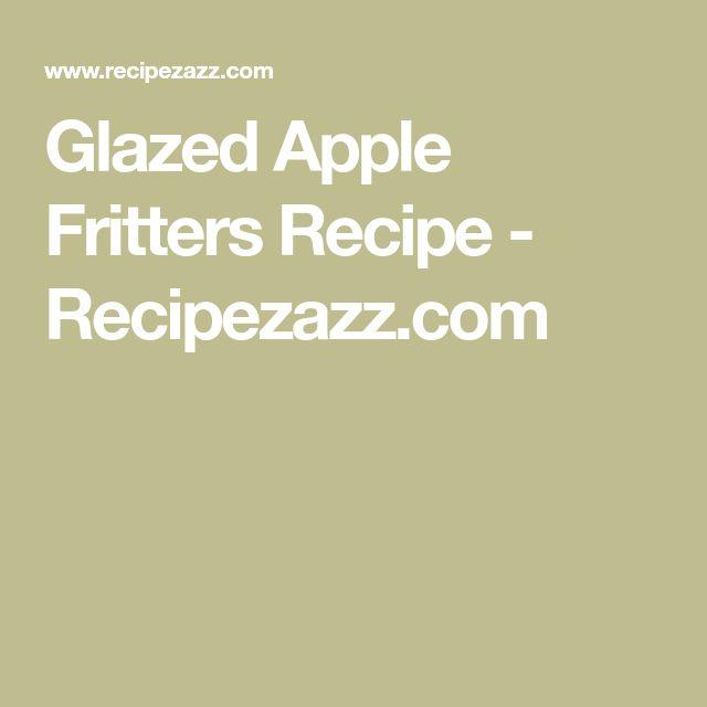 Glazed Apple Fritters Recipe - Recipezazz.com