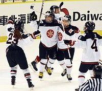 硬さほぐれゴールラッシュ=日本、初戦で持ち味発揮-アイスホッケー五輪予選:時事ドットコム