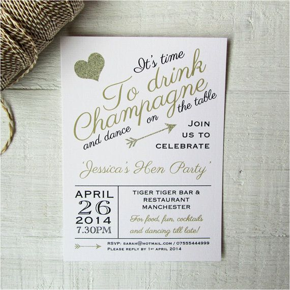 Champagne Wedding Invitations for good invitation design