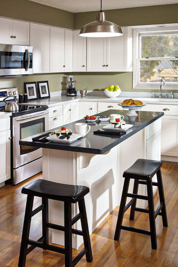53 Lovely And Cute Small Kitchen Island Design Ideas Part 38 Kitchen Remodel Small Kitchen Layout Kitchen Design Small