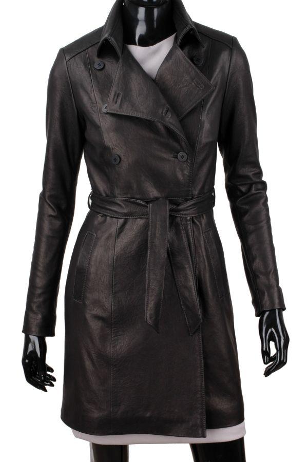 Płaszcz skórzany damski DORJAN WIA045