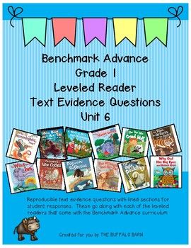 WHY WOULD THIS RESOURCE GREATLY BENEFIT YOU AND YOUR STUDENTS? The leveled readers (in your Benchmark Advance teaching materials) that go with this resource were designed for use with small groups. I found my students really struggling with the level of complexity in the leveled reader