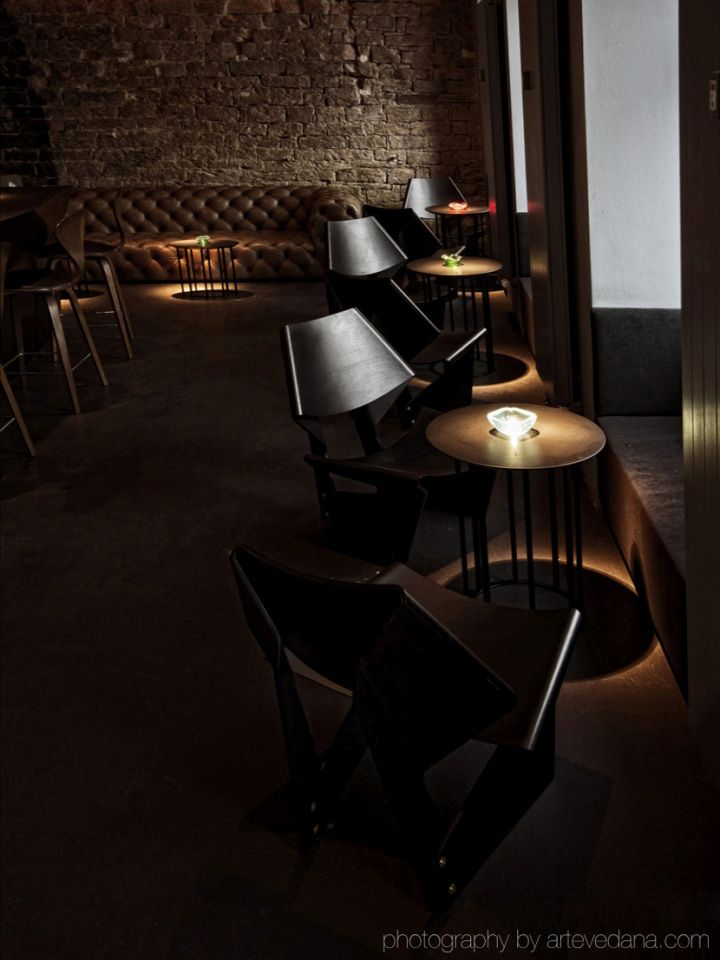 The Parlour boutique bar by POURNOIR, Frankfurt – Germany » Retail Design Blog