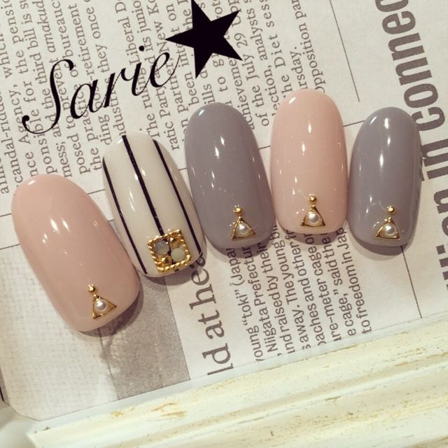 This design is simple and chic #nailbook