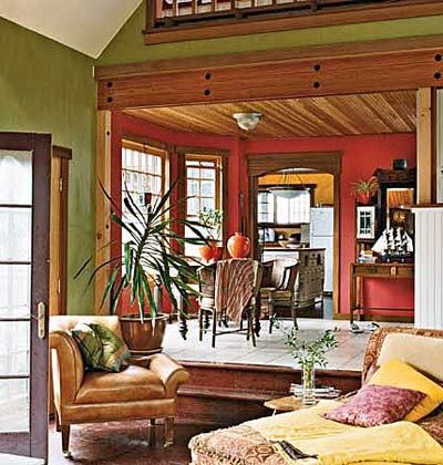 105 best images about living room red accents on for Rich colors for living room