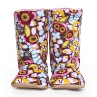 Velvet Brights baby boots by Myang