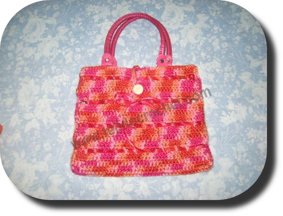 Cartera nena en tejido crochet: Cestos Crochet, Cartera Nena, In Spanish, Crochet Fabric, Only In